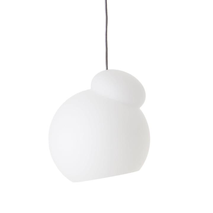 Le luminaire suspendu Air de Frandsen en Ø 22 cm, blanc opale