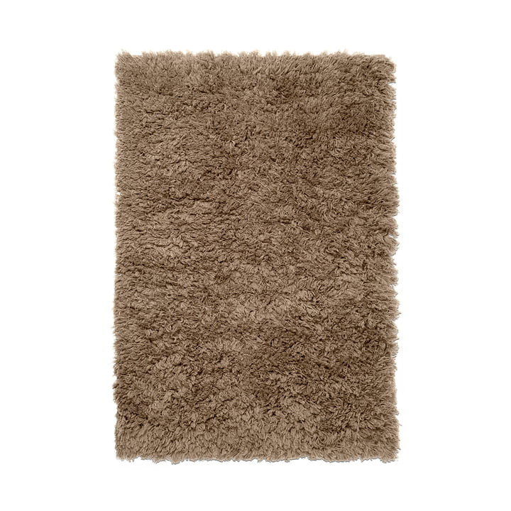 Meadow Tapis à poils longs de ferm Living in dark beige
