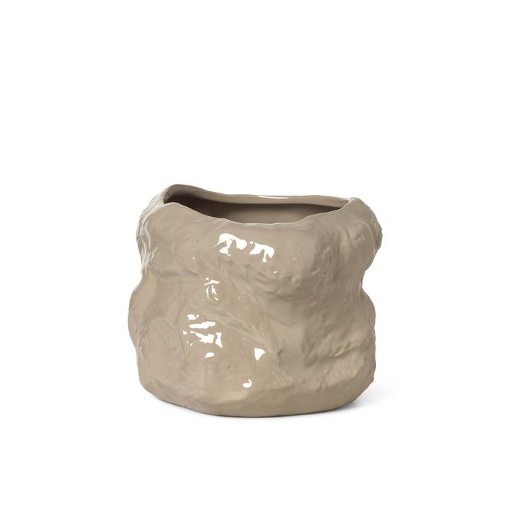 Le petit pot Tuck de ferm Living in cashmere