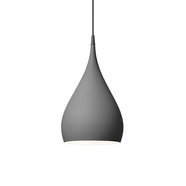 Lampe à suspension tournante BH1 Ø 25 cm de & tradition en gris mat foncé