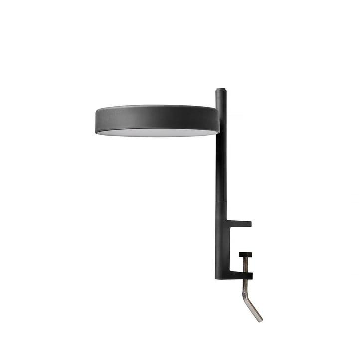Le w182 Pastille LED clamp light c1 de Wästberg en noir graphite