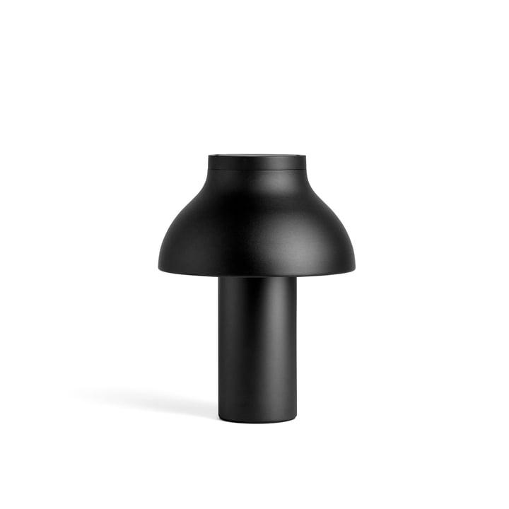 Lampe de table PC S, Ø 25 x H 33 cm, noir doux par Hay