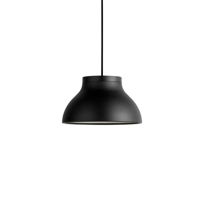 Suspension PC S, Ø 25 x H 1 4.,5 cm, noir doux par Hay