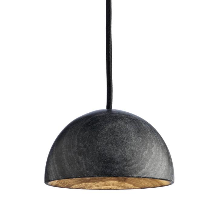 La suspension Marble de Hay en marbre noir