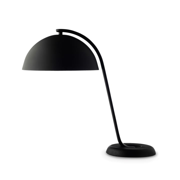 Hay - Cloche Lampe de table en noir