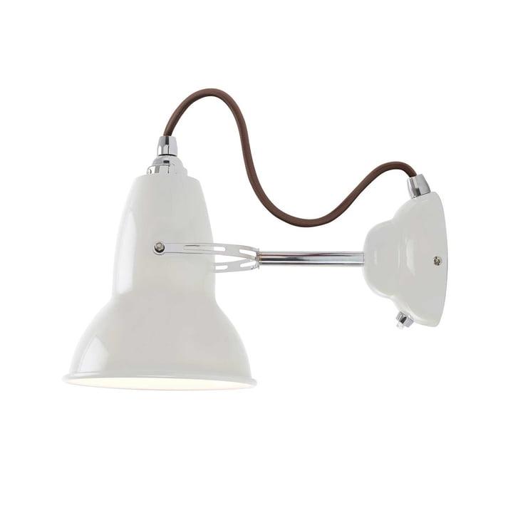 Applique originale 1227, gris câble, Blanc lin par Anglepoise