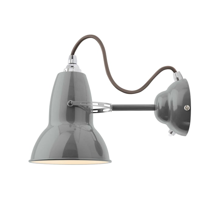 Applique originale 1227, gris câble, gris colombe par Anglepoise