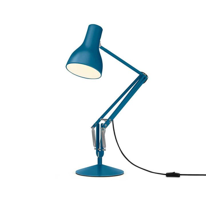 Type 75 Lampe à poser de Anglepoise en bleu saxon