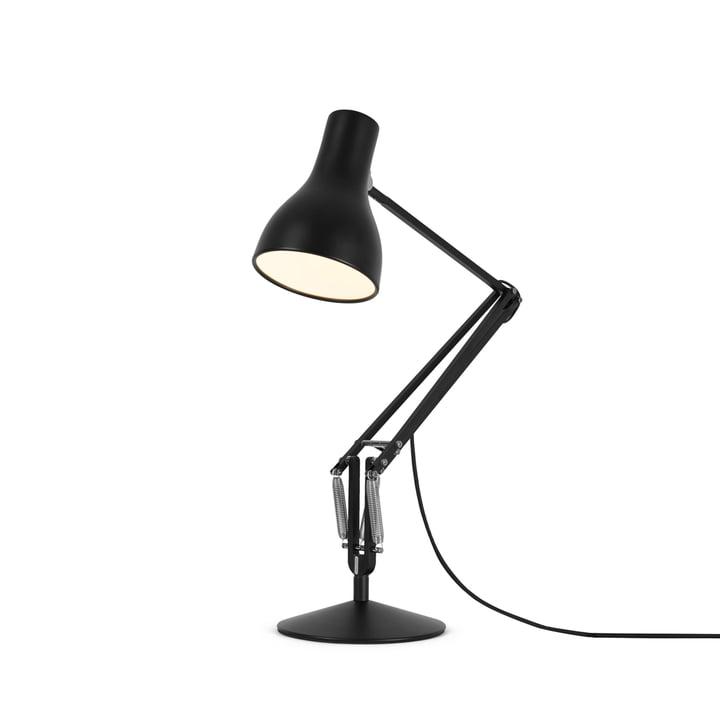 Type 75 Lampe à poser de Anglepoise en noir de jais