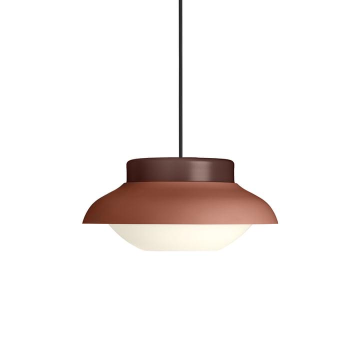 Collier 300 lampe suspension, terre cuite clair mat par Gubi