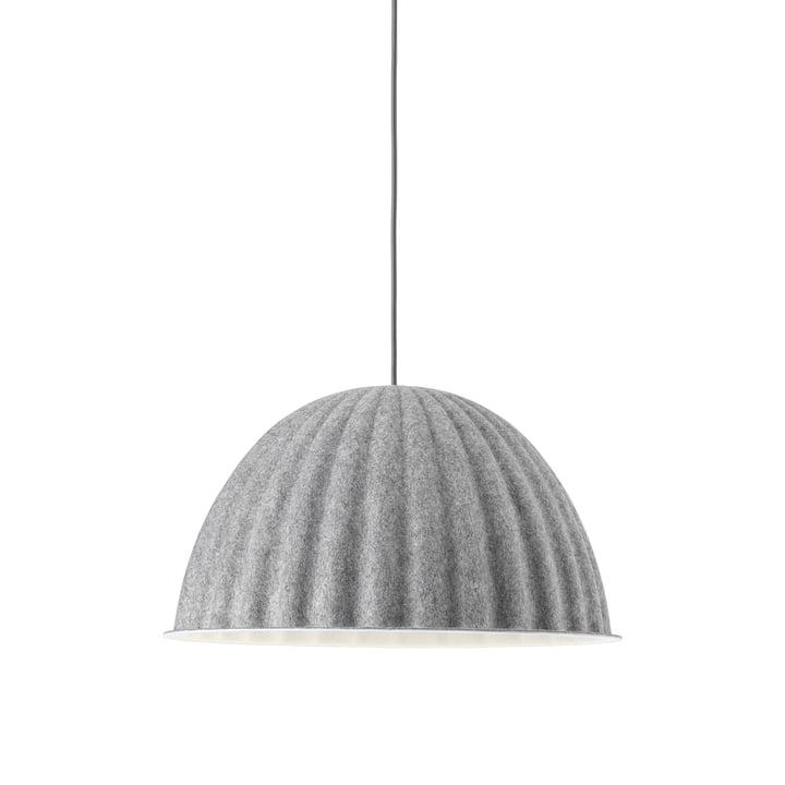 Sous la cloche lampe à suspension Ø 55 cm de Muuto en gris