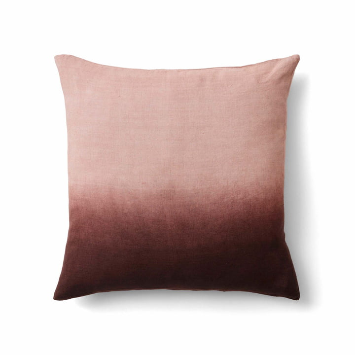Le linge de coussin Collect SC28 de & tradition dans cloud / burgundy / indigo