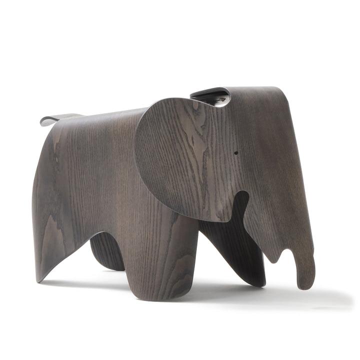 Contreplaqué Eames Elephant, frêne, teinté gris (7 5. Edition anniversaire) par Vitra