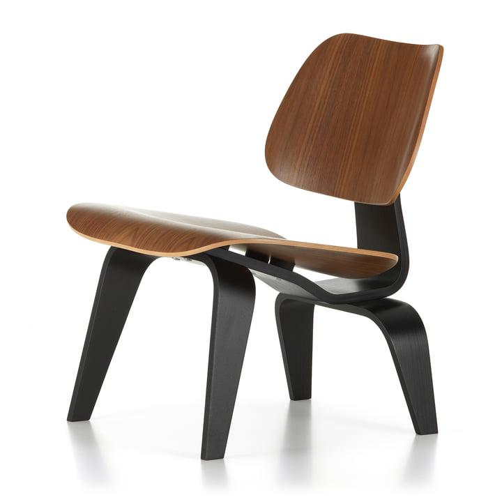 Plywood Group LCW, Noyer noir pigmenté / Frêne noir (7 5. Anniversary Edition) par Vitra