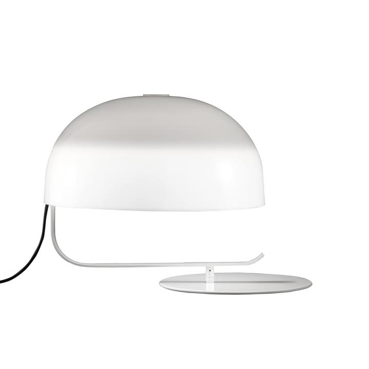 Zanuso Lampe de table, blanche par Oluce