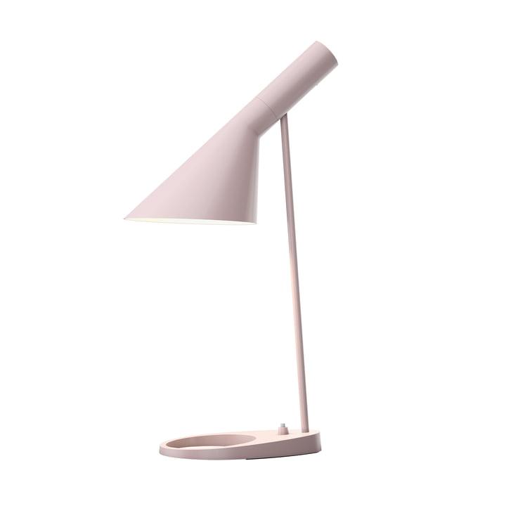 Lampe de Louis Poulsen table AJ en rose pâle
