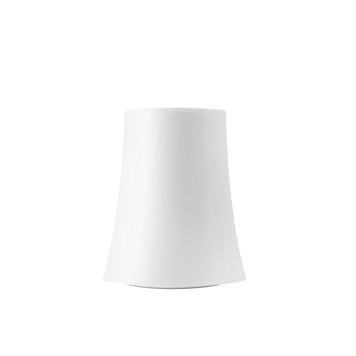 La lampe de table Birdie Zero piccola de Foscarini en blanc