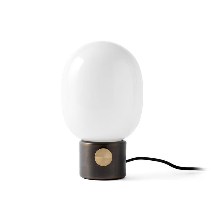JWDA Lampe de table de Menu bruni en laiton