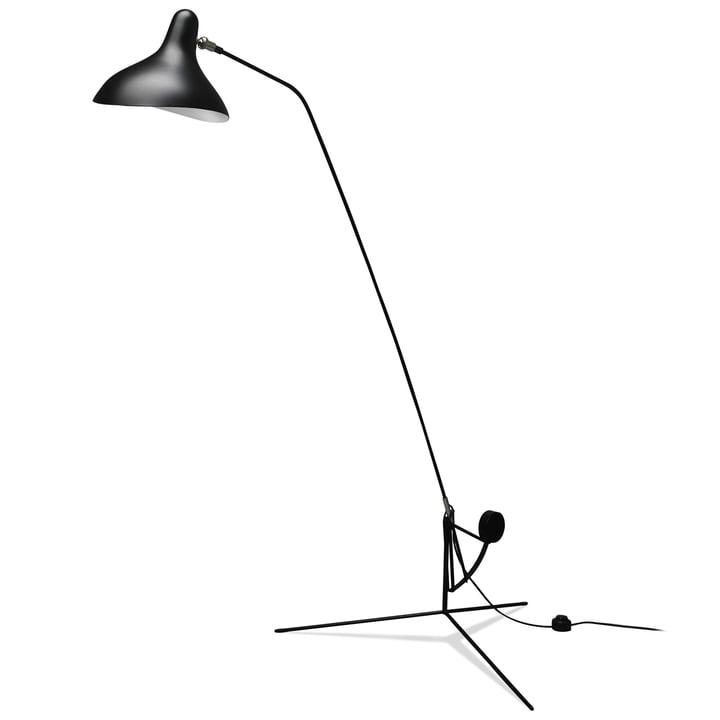 Lampadaire Mantis BS1, noir de DCW