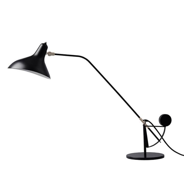 Lampe de table Mantis BS3, noir de DCW
