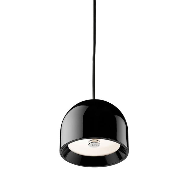 Le Wan S Luminaire suspendu de Flos en noir brillant
