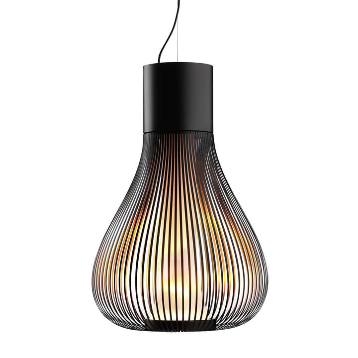 La lampe pendante Chasen de Flos en noir