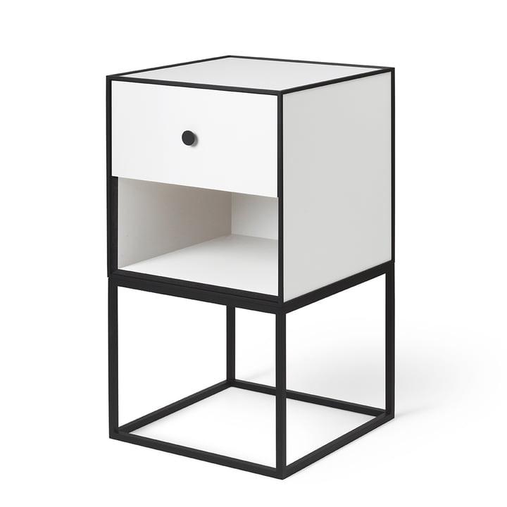 Frame Sideboard 35 (tiroir inclus), blanc de by Lassen