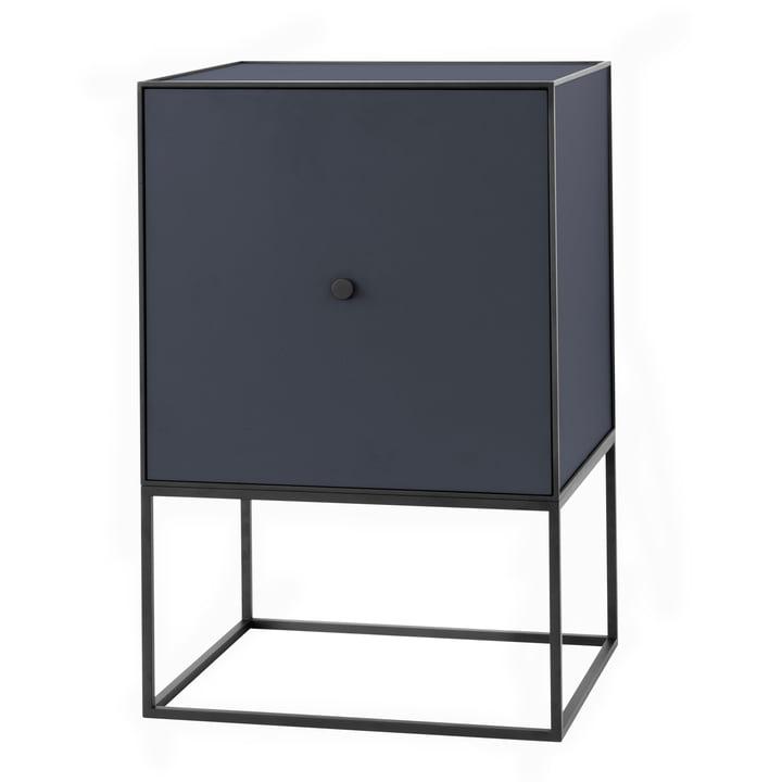 Frame Sideboard 49 (incl. porte & étagère), bleu foncé de by Lassen