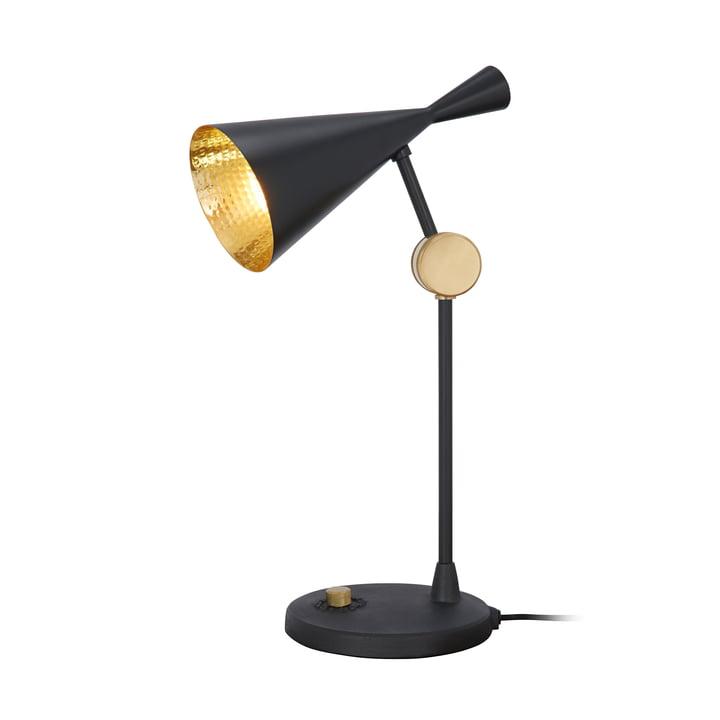 Lampe de table Beat par Tom Dixon en noir