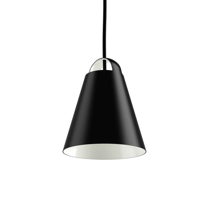 Suspension lumineuse Above Ø 17,5 cm par Louis Poulsen en noir
