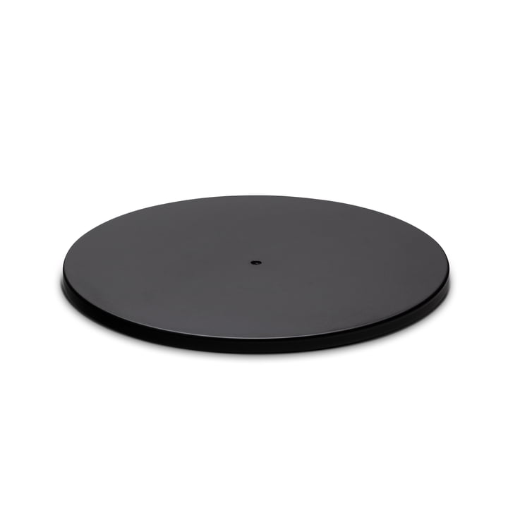 Le pied 120 de Spin de höfats en noir