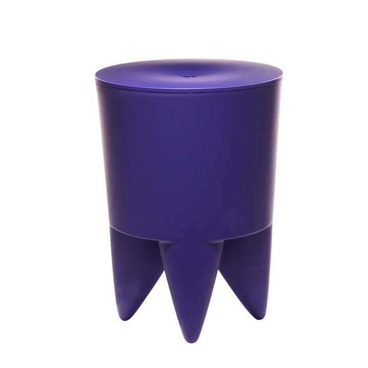 Bubu 1er Tabouret, violet de xO Design