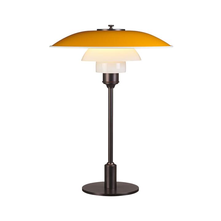 Lampe à poser PH 3½-2½ de Louis Poulsen en jaune