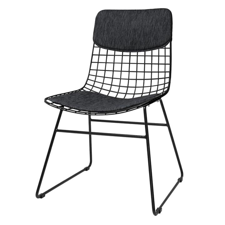 Coussin pour Wire Chair, noir de HKliving
