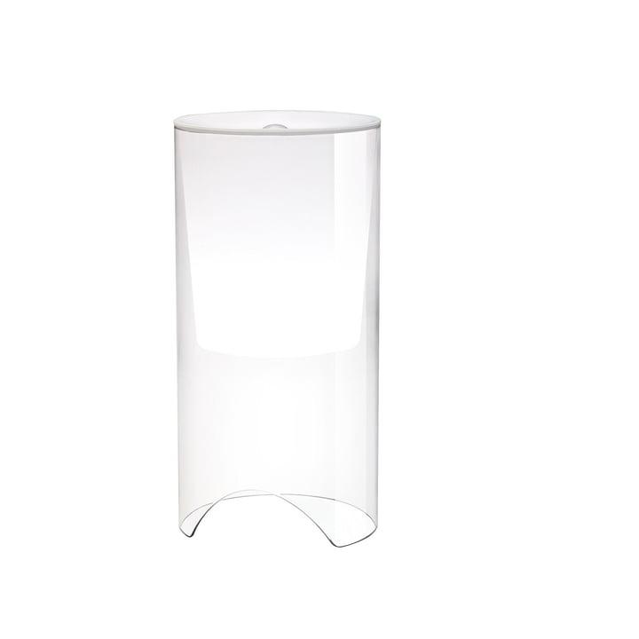 Aoy lampe de table, Ø 20 x H 60 cm, blanc opale par Flos