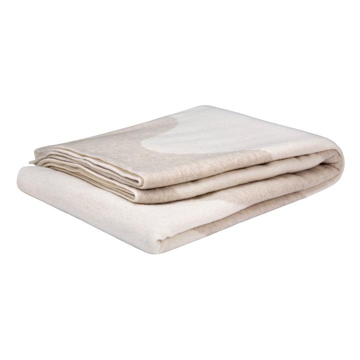 La couverture Lokki de Marimekko en blanc / beige