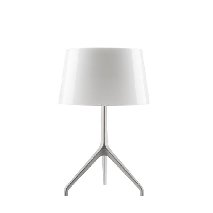 Foscarini - Lampe de table Lumière XXL, aluminium/blanche