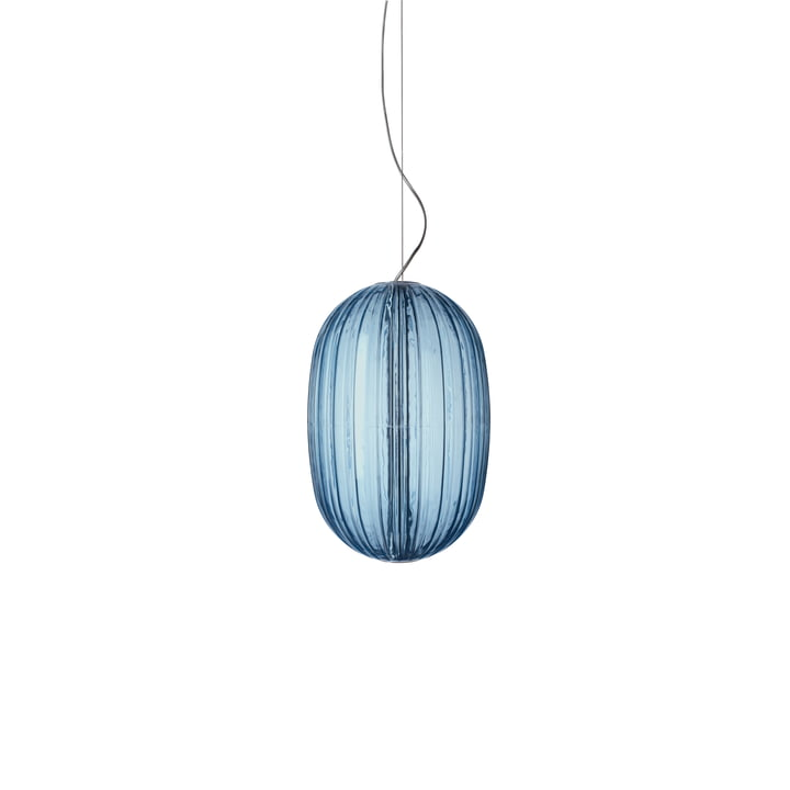 Foscarini - Plass médiatique Plass, bleu azur