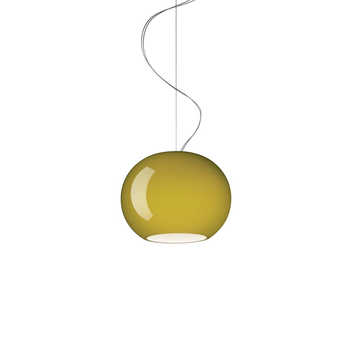 La suspension Buds 3 de Foscarini en vert