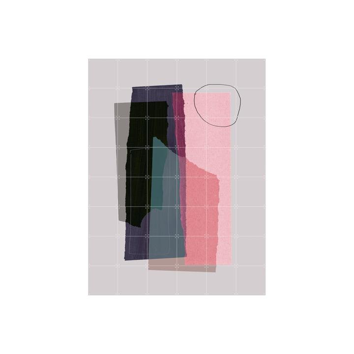 La fresque Pieces 5C de IXXI est composée de cartes assemblables