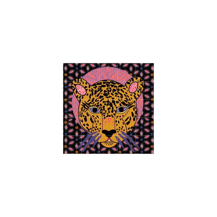 La fresque Jaguar de IXXI est composée de cartes composables