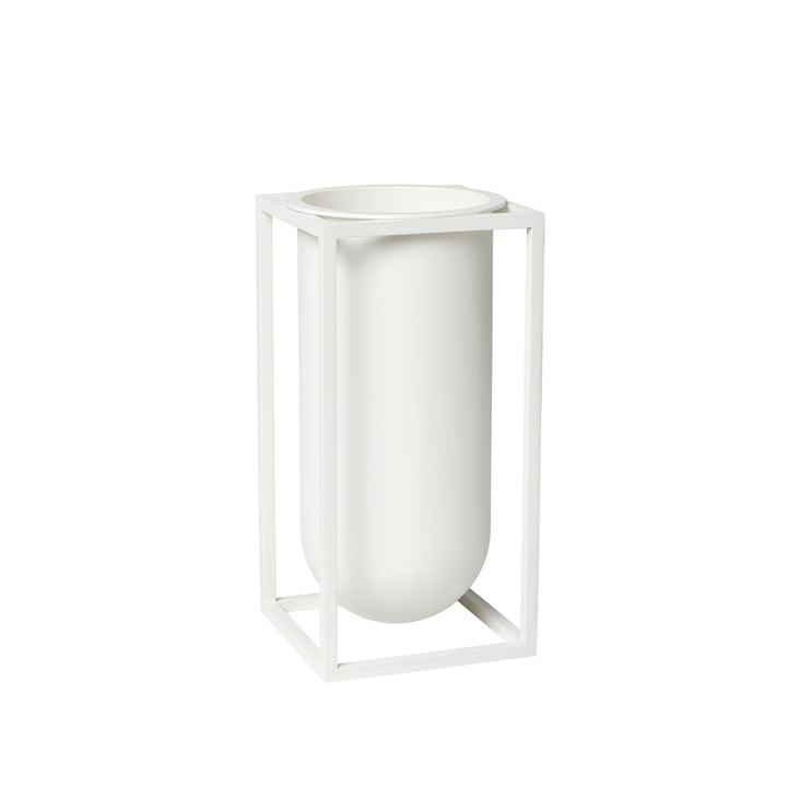 Kubus Vase Lily, blanc de by Lassen