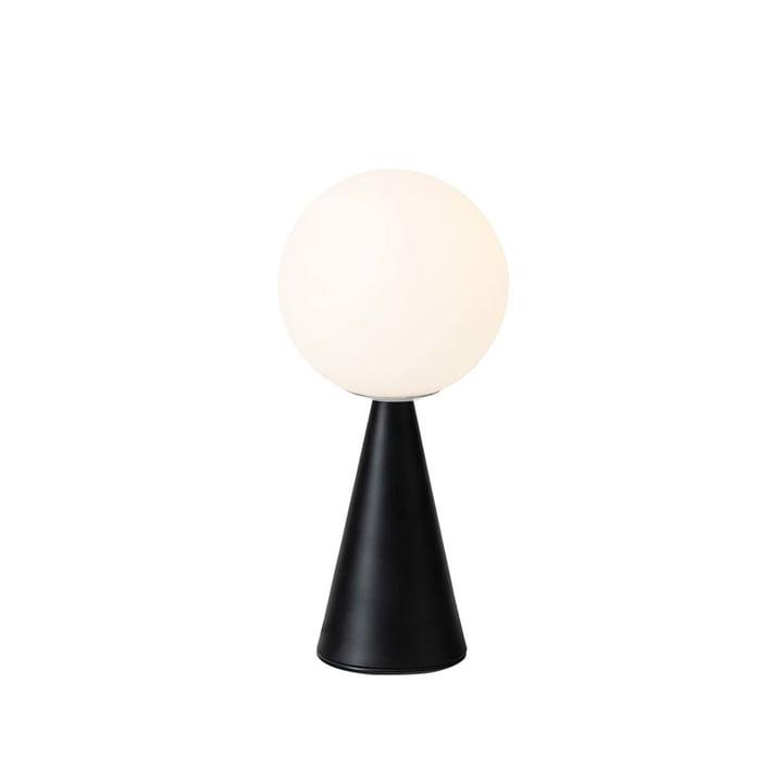 La lampe de table Bilia de FontanaArte en noir