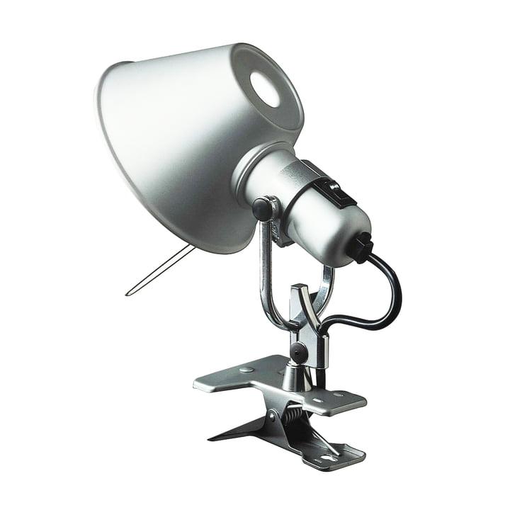 Artemide Tolomeo - lampe à pince Pinza, alu-gris