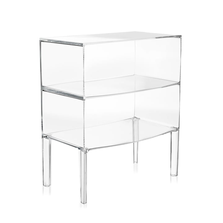 Ghost Buster La grande commode de Kartell en clair