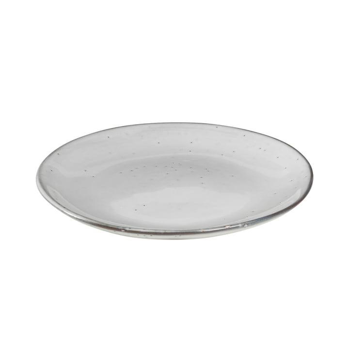 Nordic Sand Assiette à dessert Ø 20 x H 2,2 cm de Broste Copenhagen