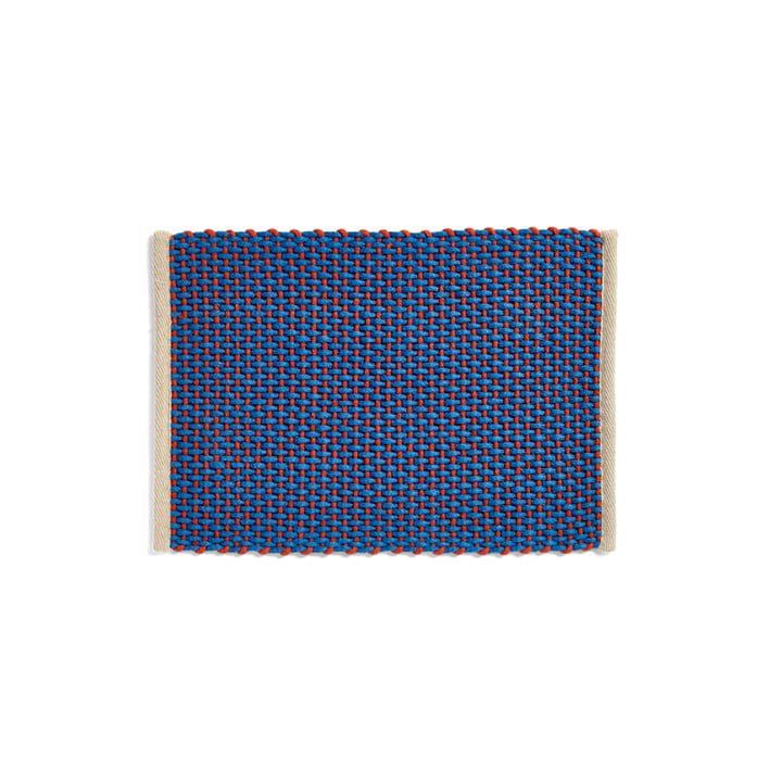 Door Mat Paillasson, 50 x 70 cm, bleu de Hay