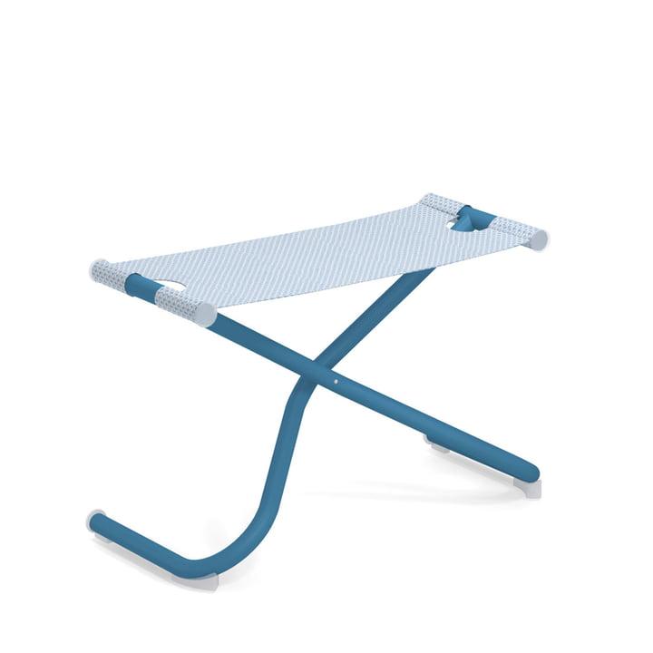 Le Snooze Seat pouf de Emu en bleu / bleu clair