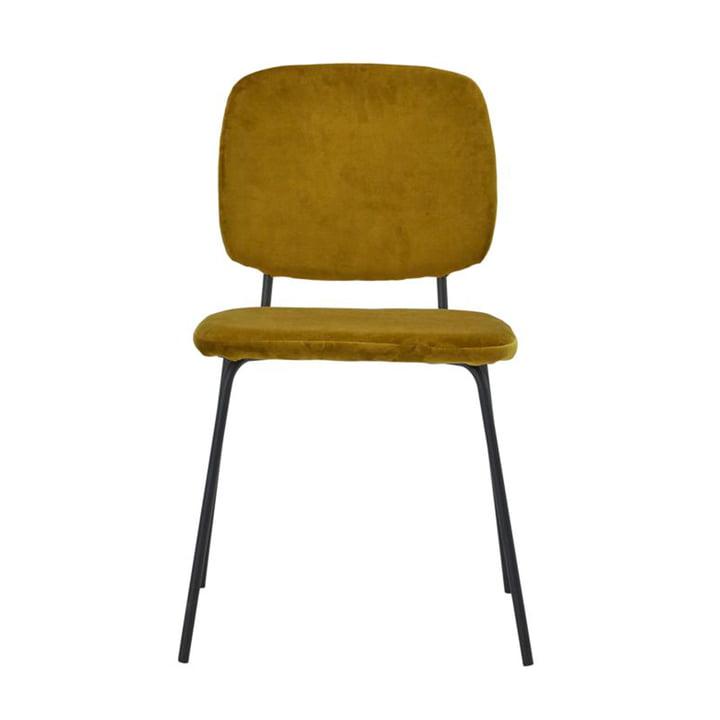 La chaise Lao de House Doctor en olive noire