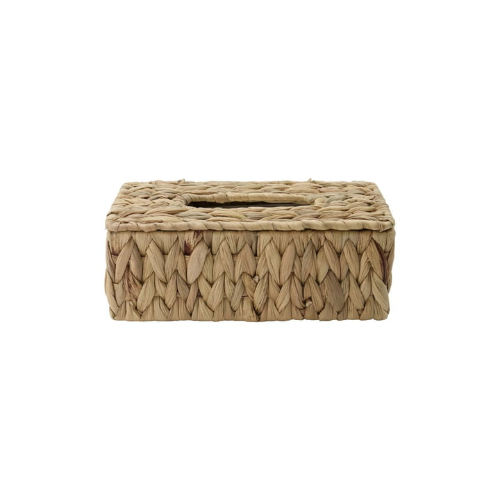 La boîte de tissus cosmétiques Clean de House Doctor en vannerie naturelle de raphia